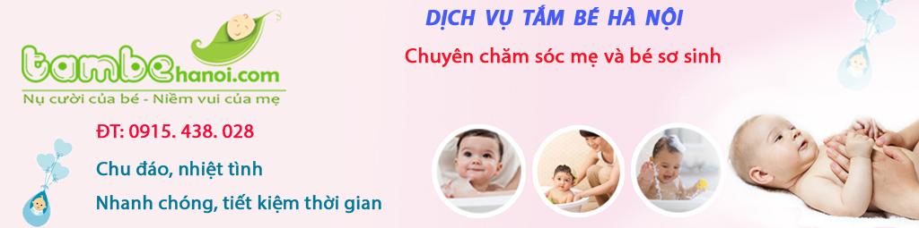 Dịch vụ tắm bé tại nhà Hà Nội