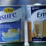 Sữa bột giả làm Ensure