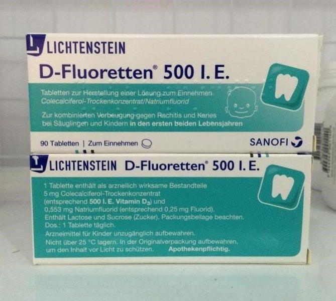 Vitamin-D-fluoretten-500-I.E-chống-còi-xương-của-Đức