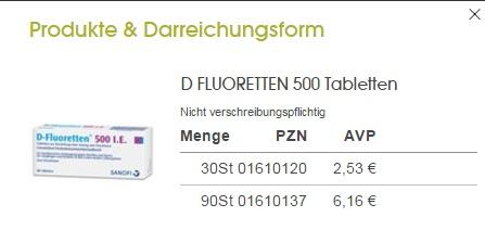 vitamin-d-flouretten-500ie duc