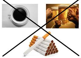 Tránh rượu bia, thuốc lá và các chất kích thích khi mang bầu