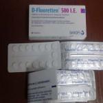 Thực hư D-fluoretten 500 i.e chứa chất chống chỉ đinh cho trẻ sơ sinh ?