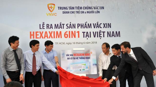 vắc xin 6 trong 1 thế hệ mới Hexaxim